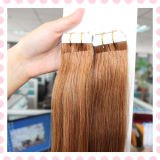 Wholesale European Remy Tape Hair Seamless Double Sided Tape Hair Extensions
