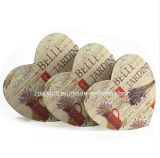 Printed Heart Shape Paper Gift Box