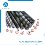 High Quality Governor/ Traction Steel Wire Rope for Passenger Elevator (OS26)