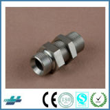 Metric Male Bulkhead Bite Type Tube Hydraulic Adapter