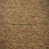 Coffee Plain Chenille Fabric for Sofa Cover Fabric (FTH31135)