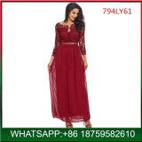 Woman Evening Long Dress, Lady Maxi Dresses, Lace Dress for Party