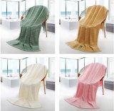 Wholesale Jacquard Home Terry Bath Towel Bathroom Soft Bamboo Bath Towel