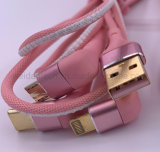 R/a USB Power Charger Charging Cable 3 in 1 iPhone/Type C/ Micro B for Apple, Andriod and Type C Mobile Phone