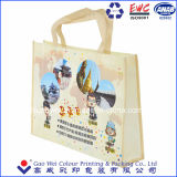 Non Woven Laminated Shopping Tote Bag, with Custom Size