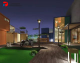 Container Hotel Design with Apartment