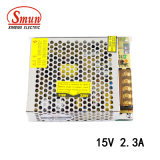 Smun S-35-15 35W 15V 2.3A Single Output Switching Power Supply
