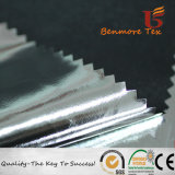 Silver Coated Polyester Taffeta Fabric with Waterproof
