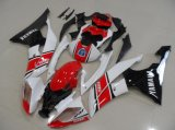 Motorcycle Body Parts Fairing for R6 2008-2014 Red and White and Black