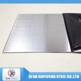 304 Hairline Finish Stainless Steel Sheet