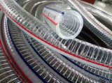 Transparent PVC Steel Wire Spring Hose Pipe