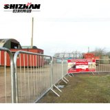 New Design High Quality Used Hot Dipped Galvanized Traffic Parking Road Safety Crowd Control Barrier for Sale