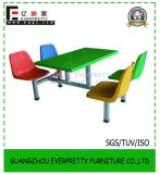 Cheap Restaurent Tables Chairs/Waterproof Fiberglass Table and Bench for Dining