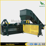 Maxborn Automatic Dual RAM Horizontal Hydraulic Baling Machine/ Hydraulic Baler for Cardboard Carton Plastic and Straw