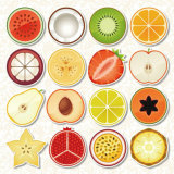 Cheap Good Quality Fruits Foam Refrigerator Fridge Magnets