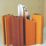 Wood Grain Aluminum Profiles