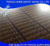 Imprinted Film Faced Shuttering Plywood/Construction Plywood with Logo