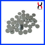 Permanent Neodymium Nickel Coated Circle Magnet