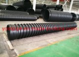 High Strength Dn500mm Sn8 HDPE Carat Pipe Fittings List for Drainage Fittings Price Corrugated Spiral Culvert Pipe