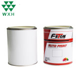 Metal Container Air-Tight Round Tin Box with Opened Cover