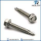 410 Stainless Steel Hwh Tek Screw 1/4-14 X 1""