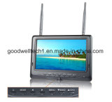 Built in Battery, 32 CH AV Receiver 7 Inch TFT LCD Monitor