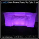 Rotational Moulding Plastic Newly Design Illuminated LED Table