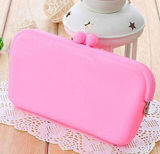 OEM New Waterproof Mini Silicone Coin Purse