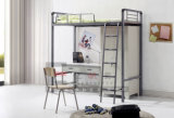 Modern School Dormitory Furniture Bunk Bed with Desk