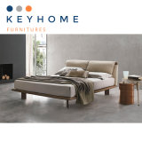 Wholesale Bedroom Furniture Leather Bed (BD-006)