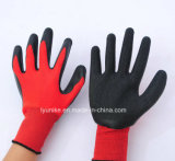 Wholesale Nylon Knitted Latex Coated Working Safety Gloves