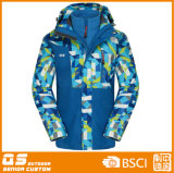 Women′s Colorful 3 in 1 Warm Sport Jacket
