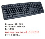 1.65USD Computer Standard Keyboard, 10, 000PCS FOB Price