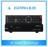 Dual Core CPU Satellite TV Receiver Linux 4.01 Combo DVB S2 DVB T2/C with IPTV Zgemma H. 2h