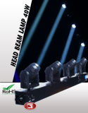 10W 4 in 1 4 Heads RGBW LED Full Color Rotating Lamp, Cheap Moving Head Lights, Beam Moving Head Light