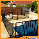 Good Powder Coated Flat Top Aluminum Safety Pool Fence/Removable Temporary Pool Fence Panels