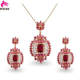 Jewelry for Women Gold Plated Set Brazil Joyas Set Brass