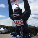 Inflatable Huge Gorilla Product Red Gorilla Model Advertising