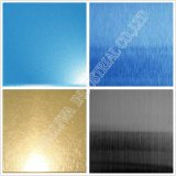 Ss304 Steel Sheet No. 4 Tin-Bronze Finish