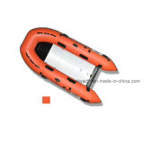10FT Inflatable Dinghy Boats / Noah Inflatable Boats with 3 Individual Chambers Aluminum Floor Deep V Keel and Outboard Motor Transom in Stock
