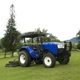 Russia Hot Sale Dq504 50HP 4WD Turf Tyre Garden Tractor Small Farm Tractor by Factory Wholesale