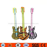 Advertising Logo Printed Inflatable Musical Instruments Guitar Toys for Party Decoration