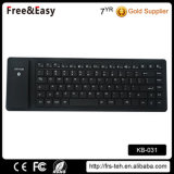 Black Soft Touch Wireless Bluetooth Silicone Keyboard