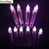 Decorative Multi Color Flash LED Candle for Party