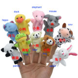 Custom Plush Stuffed Animal Finger Puppet
