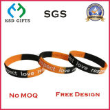 Rubber/Silicon/Debossed/Embossed/Luminous/Wholesale/Sports/Printed/Silicon Bracelet