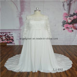 Long Sleeve Mother Gown Wedding Dress