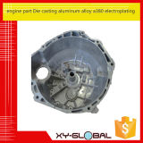 Engine Part Die Casting Aluminum Alloy A380 Electroplating