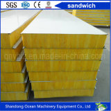 Color Steel Sandwich Wall Panel Made of PPGI Sheet for Steel Structure Building