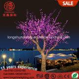Color Change Christmas 6W 7.5m 3.5m LED Leafy Cherry Plam Tree Light for Decoration Light
